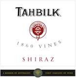 Tahbilk 1860 Vines Shiraz label