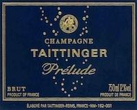 Taittinger Prélude Grand Cru label