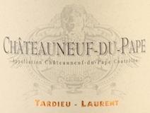 Tardieu-Laurent Châteauneuf-du-Pape  label