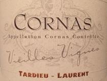 Tardieu-Laurent Cornas Vieilles Vignes label