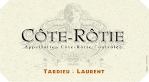 Tardieu-Laurent Côte Rôtie  label
