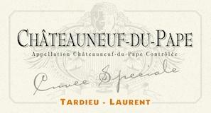 Tardieu-Laurent Châteauneuf-du-Pape Cuvée Speciale label