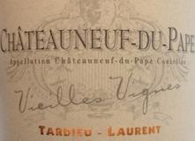 Tardieu-Laurent Châteauneuf-du-Pape Vieilles Vignes label