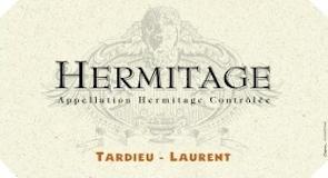 Tardieu-Laurent Hermitage Blanc label