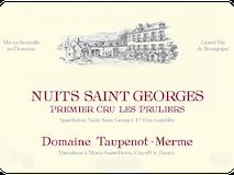 Domaine Taupenot-Merme Nuits-Saint-Georges Premier Cru Les Pruliers label