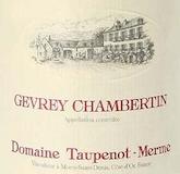 Domaine Taupenot-Merme Gevrey-Chambertin  label