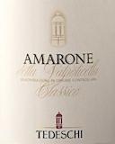 Tedeschi Amarone della Valpolicella Classico  label