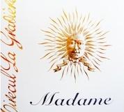 Château Tirecul La Gravière Cuvée Madame label