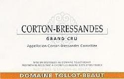 Domaine Tollot-Beaut et Fils Corton Grand Cru Bressandes label