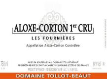 Domaine Tollot-Beaut et Fils Aloxe-Corton Premier Cru Les Fournières label