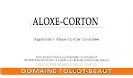 Domaine Tollot-Beaut et Fils Aloxe-Corton  label