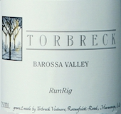 Torbreck Run Rig label