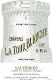 Château La Tour Blanche  Premier Cru label