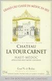 Château La Tour Carnet  Quatrième Cru label