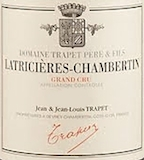 Domaine Jean Trapet Père et Fils (ex Louis Trapet) Latricières-Chambertin Grand Cru  label