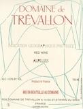 Domaine de Trévallon Alpilles Rouge label