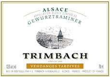 Trimbach Gewürztraminer VT label