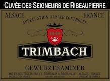 Trimbach Gewürztraminer Ribeaupierres label