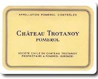 Château Trotanoy  label