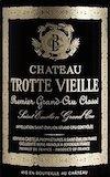 Château Trotte Vieille  Premier Grand Cru Classé B label