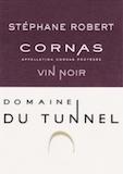 Domaine du Tunnel Cornas Vin Noir label