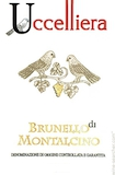 Uccelliera Brunello di Montalcino  label
