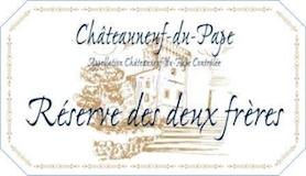 Domaine Pierre Usseglio et Fils Châteauneuf-du-Pape Réserve des Deux Frères label