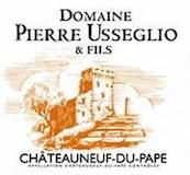 Domaine Pierre Usseglio et Fils Châteauneuf-du-Pape  label