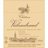 Château Valandraud  Premier Grand Cru Classé B label