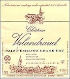 Château Valandraud Valandraud Kosher label