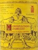 Azienda Agricola Valentini Montepulciano d'Abruzzo  label
