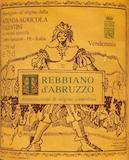 Azienda Agricola Valentini Trebbiano d'Abruzzo  label