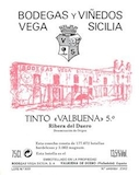 Bodegas Vega-Sicilia Valbuena label