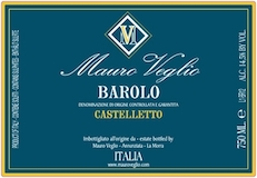 Mauro Veglio Barolo Castelletto label