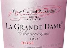 Veuve Clicquot-Ponsardin La Grande Dame Rosé label