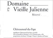 Domaine de la Vieille Julienne Châteauneuf-du-Pape Réservé label