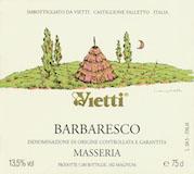 Vietti Barbaresco Masseria label