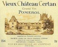 Vieux Château Certan  label