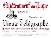 Domaine du Vieux Télégraphe Châteauneuf-du-Pape  label