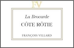 Domaine François Villard Côte Rôtie La Brocarde label