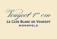 Domaine de la Vougeraie Vougeot Premier Cru Le Clos Blanc label