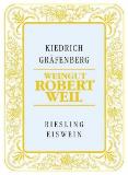 Weingut Robert Weil Kiedricher Gräfenberg Riesling Eiswein label