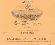 Domaine Zind-Humbrecht Windsbuhl Riesling label