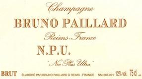 """Bruno Paillard N.P.U. """"Nec Plus Ultra"""" label"""