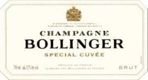 Bollinger Spécial Cuvée label