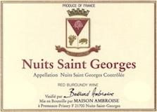Maison Bertrand Ambroise Nuits-Saint-Georges  label