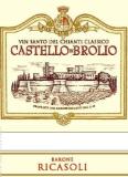 Barone Ricasoli Vin Santo del Chianti Classico Castello di Brolio label