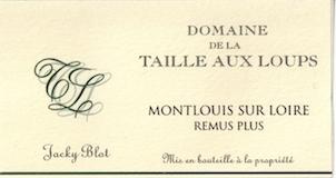 Domaine de la Taille aux Loups Rémus Plus label