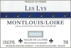 Domaine François Chidaine Les Lys label