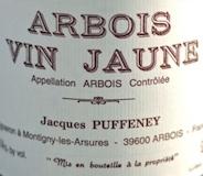 Domaine Jacques Puffeney Arbois  Vin Jaune label